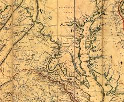 Maps Virginia by Sanders Of Stafford Fairfax And Loudoun Counties In Virginia