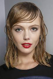 short stringy hair hair trend from fashion month super soaked strands hair trend