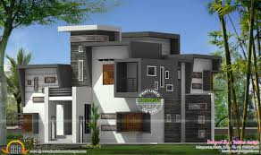 Kerala Home Design May 2015 Contemporary Flat Roof House Kerala Home Design And Floor Plans