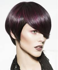 sliced layered chin lengt bob with bangs hairstyles for long faces