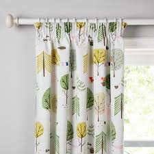 Curtains Online Buy Little Home At John Lewis Camping Pencil Pleat Blackout Lined