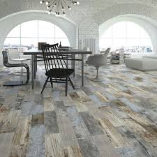 rustic blue wood plank tiles reclaimed wood effect tiles tiles