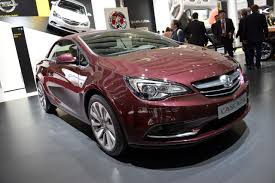 vauxhall buick opel vauxhall cascada drops its top in geneva buick cascada forums