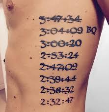 47 awesome running inspired tattoos runner u0027s world