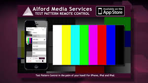 test pattern media alford test pattern remote control app youtube