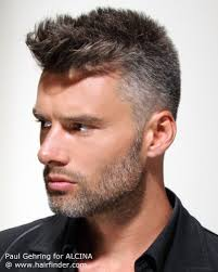 images of sallt and pepper hair practical short clipped men s hair with a salt and pepper color
