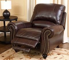 Abbyson Leather Sofa Reviews Amazon Com Abbyson Durham Leather Pushback Reclining Armchair