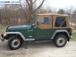 2000 jeep wrangler sale for sale 2000 passenger car jeep wrangler wheaton insurance rate