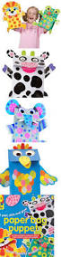 art for children a creative set for kids paper zoo alex