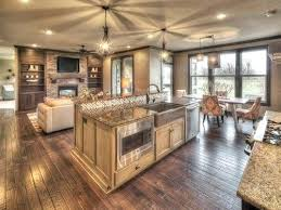 open house designs open floor plan kitchen design open house plans with large kitchens
