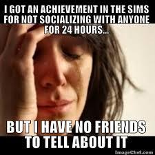 Sims Meme - i made a sims meme lol rebrn com