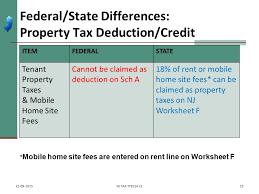 itemized deductions nj property tax deduction credit pub 4012
