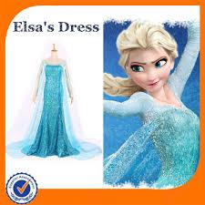 Halloween Elsa Costume Custome Size Elsa Costume Fantasia Frozen Elsa Dress Cosplay
