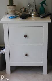 Ikea Hemnes Dresser Hack Ikea Hack Gilded Gold Hemnes Nightstands Diy Picklee