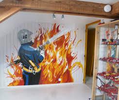 decoration chambre pompier decoration