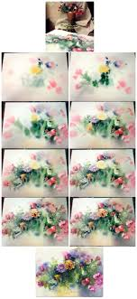 watercolor paper flower tutorial tutorial watercolor on wet paper by olgasternik deviantart com on