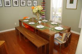modern kitchen table bench seat wooden chairs and bench leather