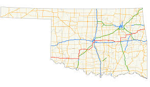 Map Of Northeast Us U S Route 62 In Oklahoma Wikipedia