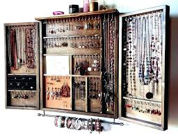 necklace organizer images Jewelry organizer for wall jpg