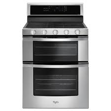 how to light a whirlpool gas oven whirlpool 6 0 cu ft double oven gas range with center oval burner