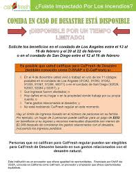 a oport de si e social in response to the los angeles county l a county department of