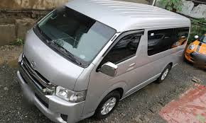 toyota hiace 2015 manila rent a car your most trusted local rent a car company