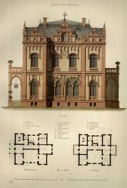 Gothic House Plans 256 Best Laid Out Images On Pinterest Vintage Houses