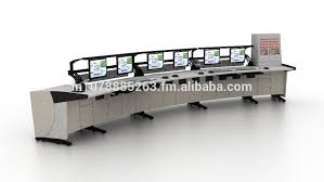 Control Room Desk Floating Structure Fully Integrated Xpex Control Room Console