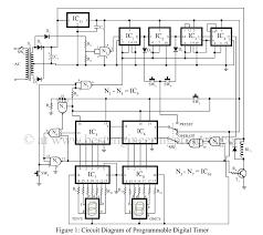 programmable digital timer circuit diagram best engineering
