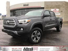 toyota trd package tacoma 2017 toyota tacoma 4x4 v6 sr5 trd sports package brton on