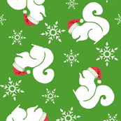 squirrel wrapping paper squirrel fabric wallpaper gift wrap spoonflower