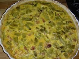 cuisiner des haricots plats tarte aux haricots plats et jambon recette ptitchef