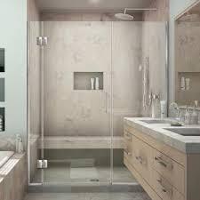 dreamline enigma x 60 in x 76 in frameless sliding shower door