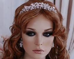 headpiece wedding bridal headpiece etsy