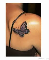 80 dazzling butterfly tattoos on shoulder