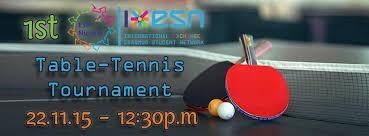 Table Tennis Tournament by 1st Esn Nicosia Table Tennis Tournament Esn Cyprus