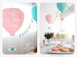 hot air balloon decorations hot air balloon decoration tutorial next to nicx