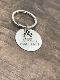 remembrance keychain buttons keychain pet memorial keychain cat keychain pet