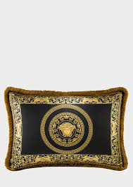 silk home versace medusa baroque silk cushion home collection us