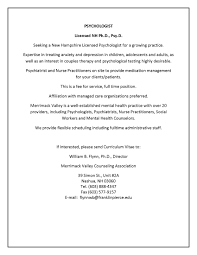 Psychiatrist Resume Classifieds U0026 Employment Employment Opportunities