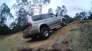 old mitsubishi montero my old mitsubishi pa challenger v6 off roading youtube