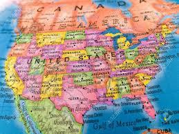 united states globe map u s lessons tes teach