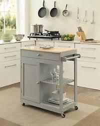ebay kitchen islands kitchen island on wheels mobile dining room storage butcher block