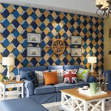 aliexpress com buy modern abstract geometric wallpaper roll
