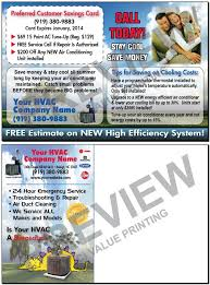 Tune Up Estimate by Free Design Fast Ship Hvac Marketing Postcards And More