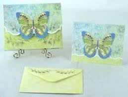 embossed stationery carol wilson embossed stationery dainty butterfly gifty