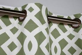 Green Grommet Curtains Thermal Grommet Top Curtains Grommet Top Insulated Panels