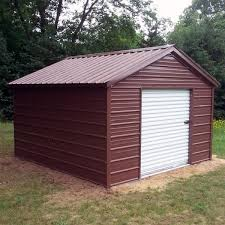10x12x8 metal shed installed in michigan visit www