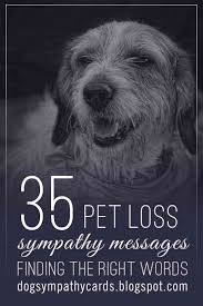 sympathy for loss of dog visit http jagifts us petlosssympathymessages pet loss is