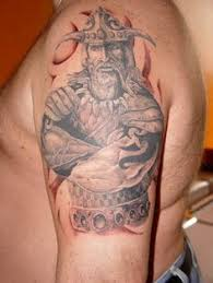 viking warrior tribal tattoo designs images viking